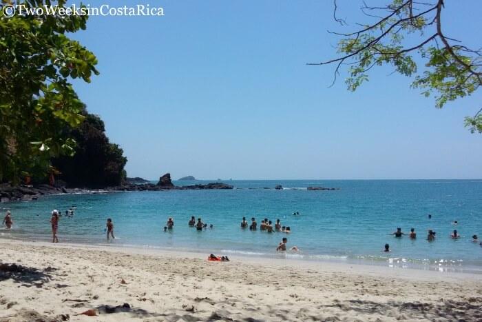 Playa Manuel Antonio in the National Park