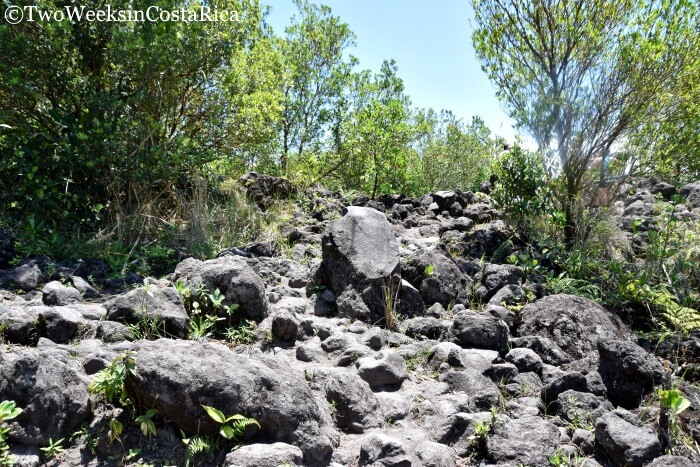 Lava Rocks at Arenal Volcano National Park