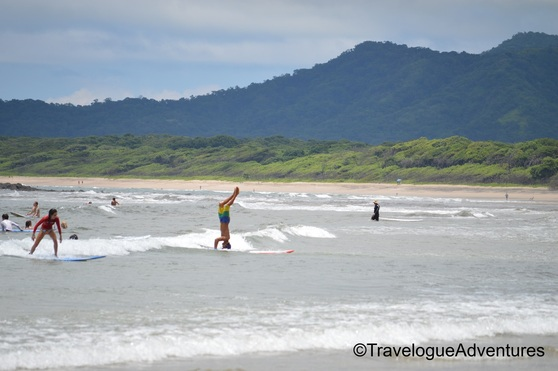 Tamarindo Surfing Picture