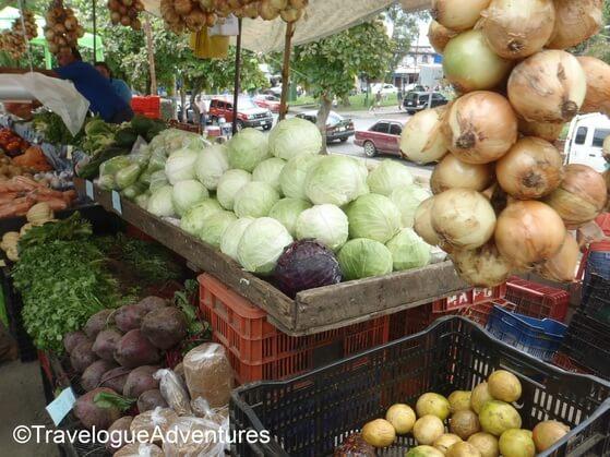Quepos feria/farmer's market