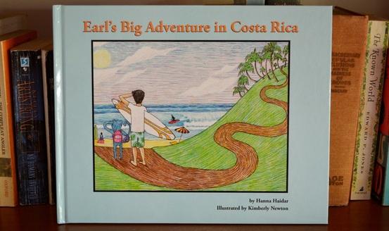 Earl's Big Adventure in Costa Rica Book Picture