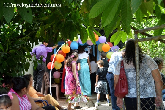 Real Costa Rican wedding reception Picture