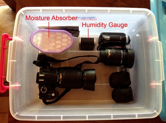 Homemade Camera Dry Box Photo