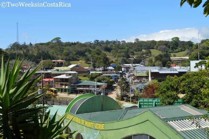 Monteverde: A Forest in the Clouds - View of Downtown Santa Elena