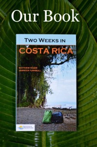 Two Weeks in Costa Rica Book on Leaf