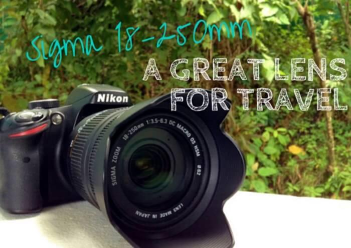 Sigma 18-250mm Lens on Nikon D3200 Camera