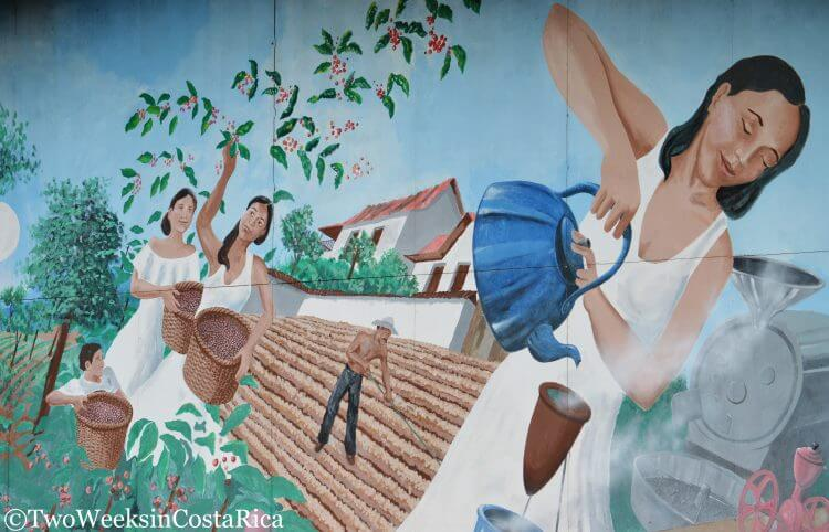 Cafe Britt Mural | Two Weeks in Costa Rica