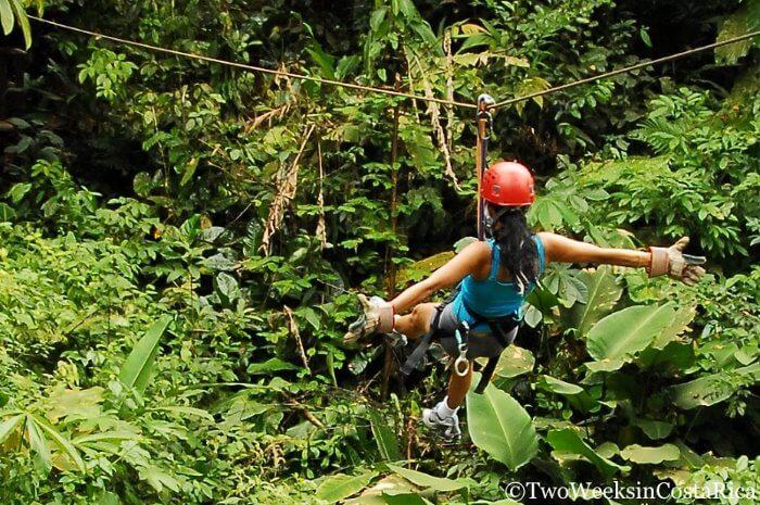 Zip Line Costa Rica | Two Weeks in Costa Rica