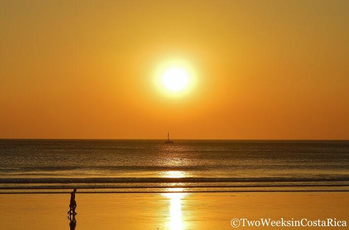 Playa Grande Sunset | Two Weeks in Costa Rica