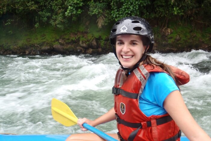 Jenn Rafting | Two Weeks in Costa Rica