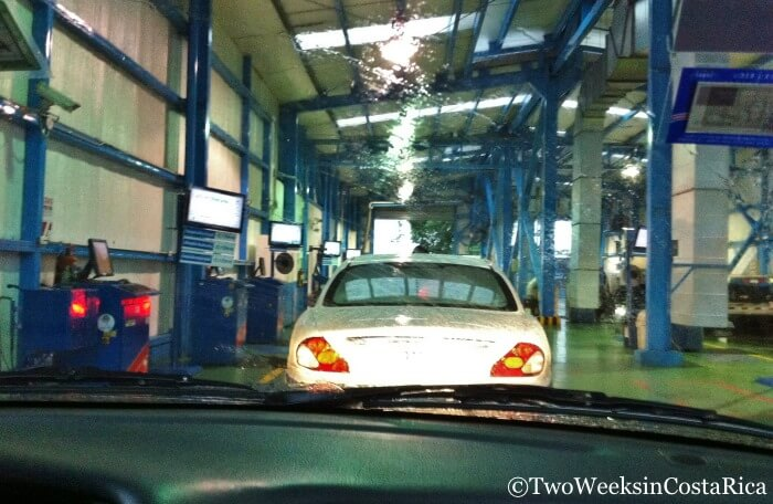Costa Rica's high-tech Vehicle Inspection | Two Weeks in Costa Rica