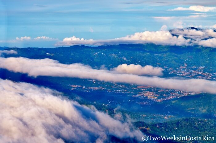 View From Small Plane | Two Weeks in Costa Rica