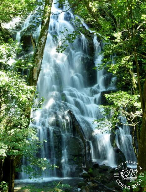 Pailas Seasonal Waterfall - Rincon de la Vieja National Park