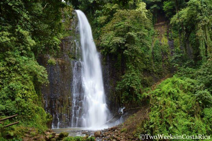 Los Chorros Waterfall, Grecia, Costa Rica