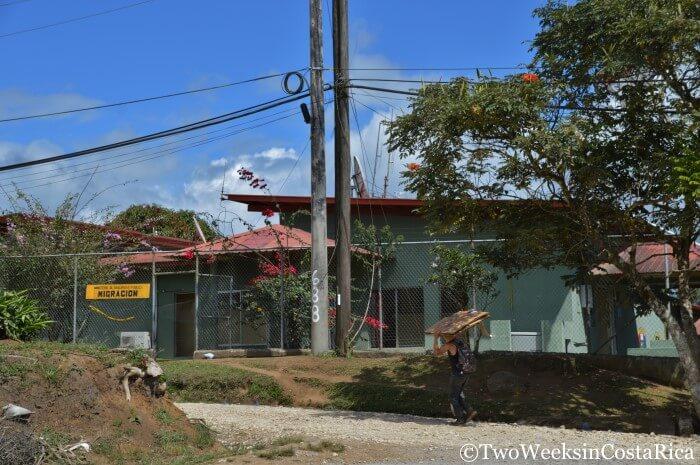 Crossing the Costa Rica-Panama Border at Rio Sereno