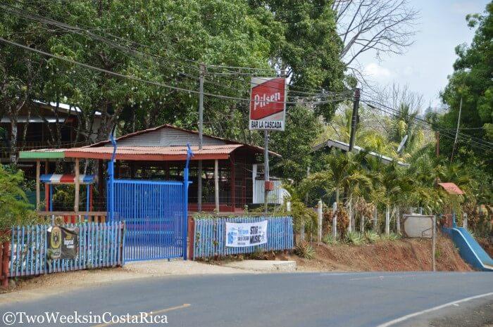 Bar La Cascada near Samara Costa Rica