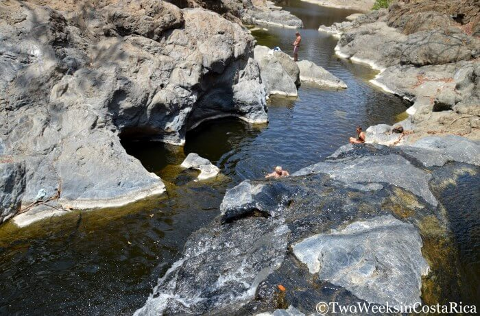 Natural Swimming Pools near Samara Costa Rica