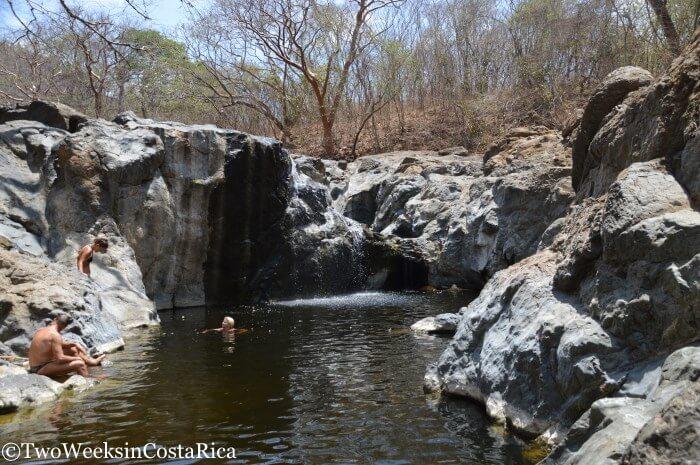 The Belen Waterfall - A Hidden Swimming Hole near Samara