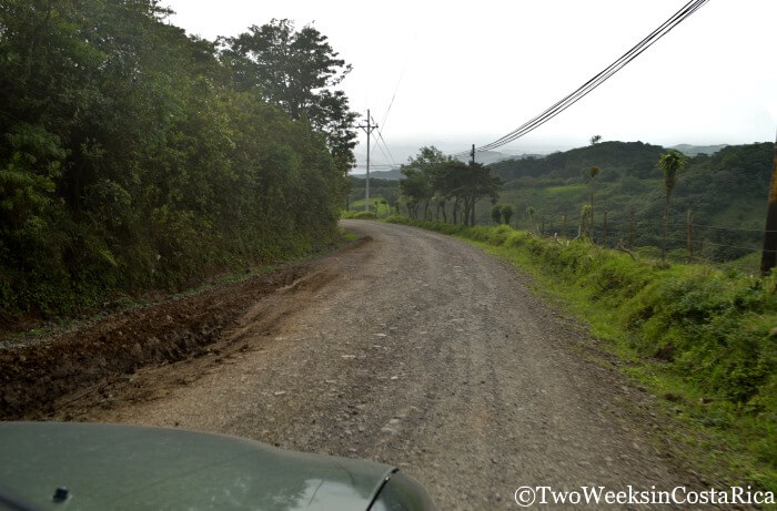 Road Conditions in Costa Rica - Route 145