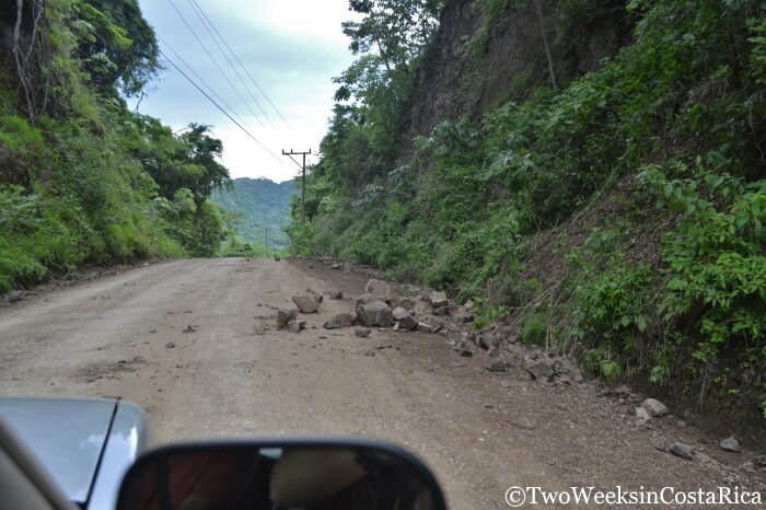 Road Conditions in Costa Rica - Route 160