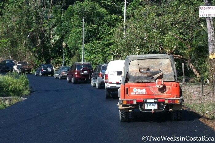 Road Conditions in Costa Rica - Route 243