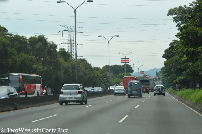 Road Conditions in Costa Rica - Route 1