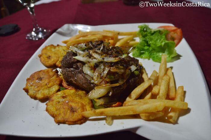La Trocha Restaurant in Atenas Costa Rica
