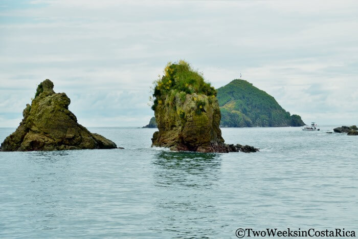 View of the islands off of Manuel Antonio