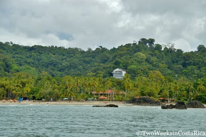 View of Manuel Antonio from Ocean