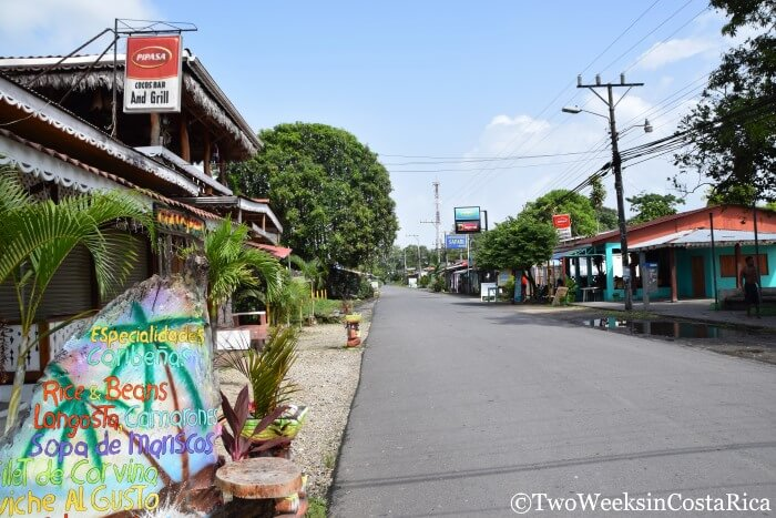 Cahuita, Costa Rica Destination Guide - Main Street in Town