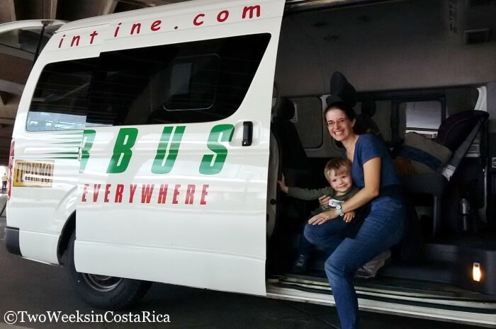Shared Interbus Shuttle in Costa Rica