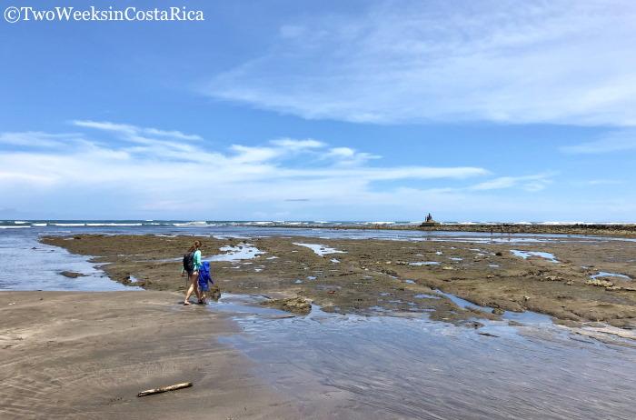 Tidepools at Playa Esterillos Oeste