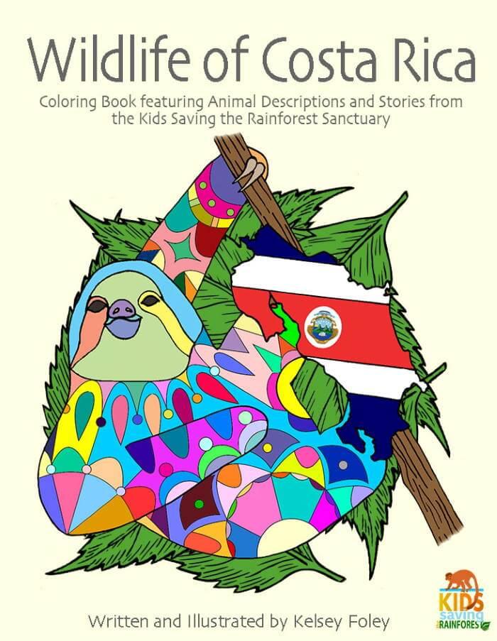 Kids Saving the Rainforest Manuel Antonio Coloring Book