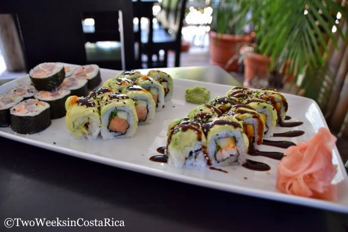 Sushi Rolls Ohana Jaco