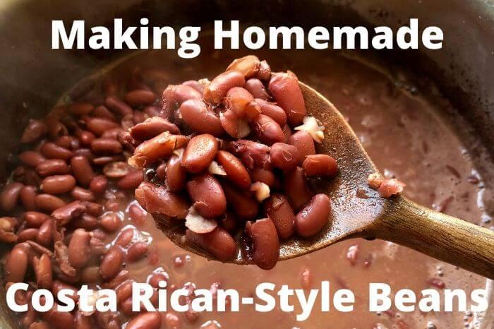 Homemade Bean Recipe Costa Rica