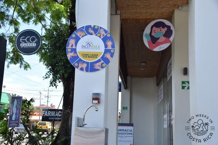 Handwashing and Masks Requirements Costa Rica