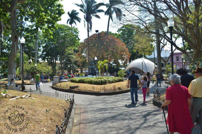 Central Park Alajuela