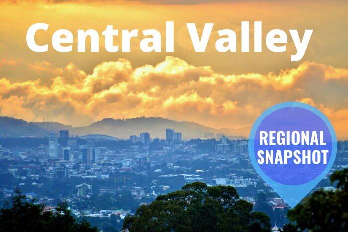 Central Valley Region Costa Rica