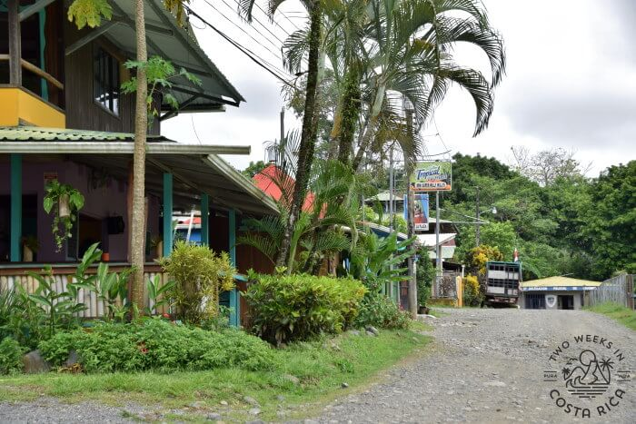 Center of Town Pavones