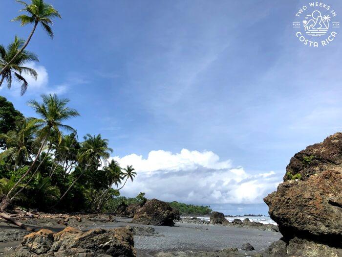 Southern End Playa Pavones