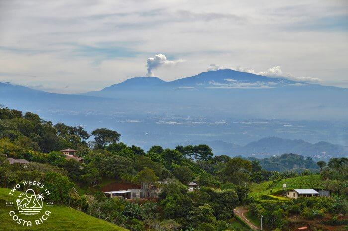 Volcano Puffing Costa Rica