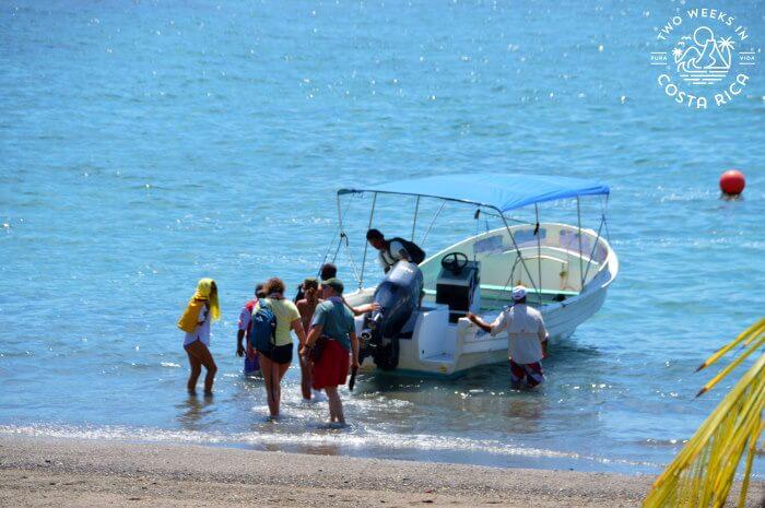 Boat Taxi Landing Drake Bay