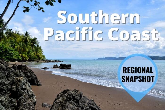 Southern Pacific Coast Costa Rica