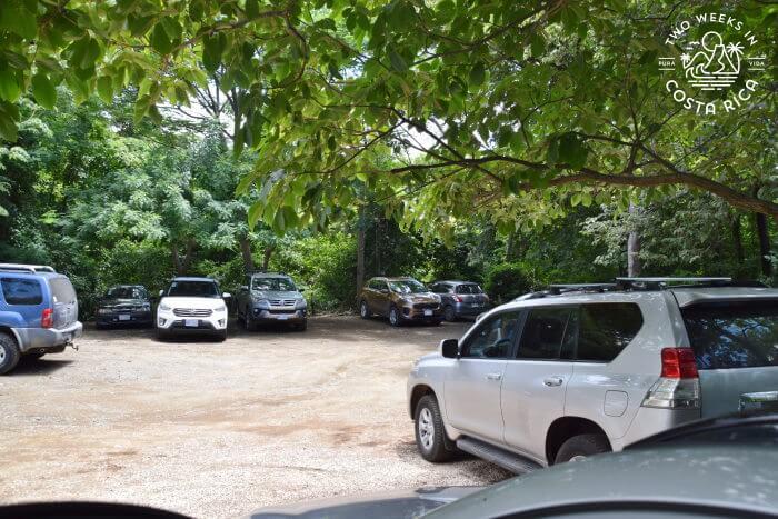 Parking Playa Danta and Playa Dantita