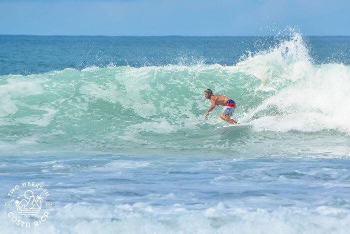 Surfing Playa Negra Guanacaste