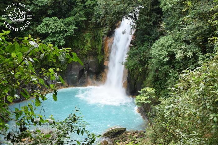 Rio Celeste Waterfall Off the Beaten Path