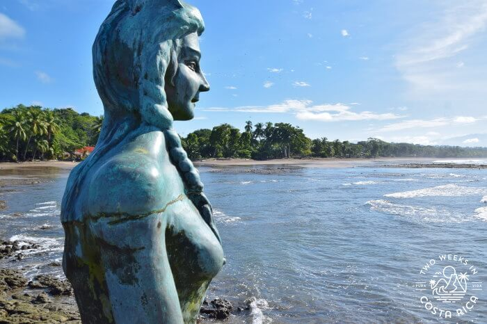 Mermaid Statute Esterillos Oeste