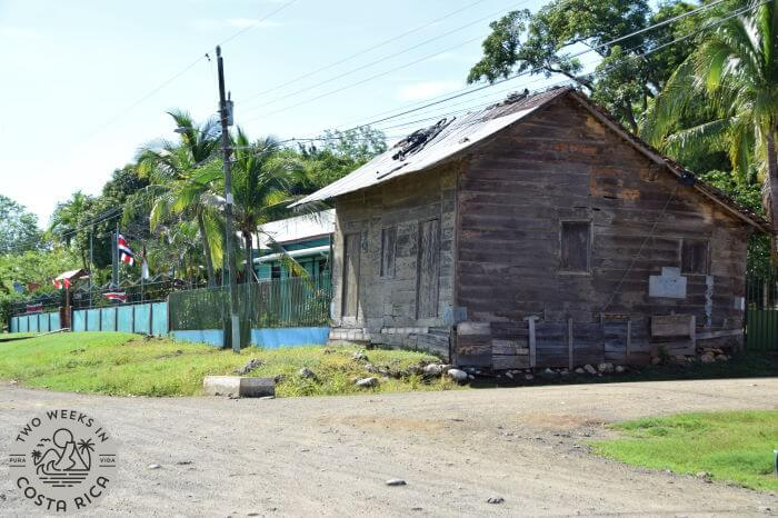 A typical wooden house in rural Guanacaste