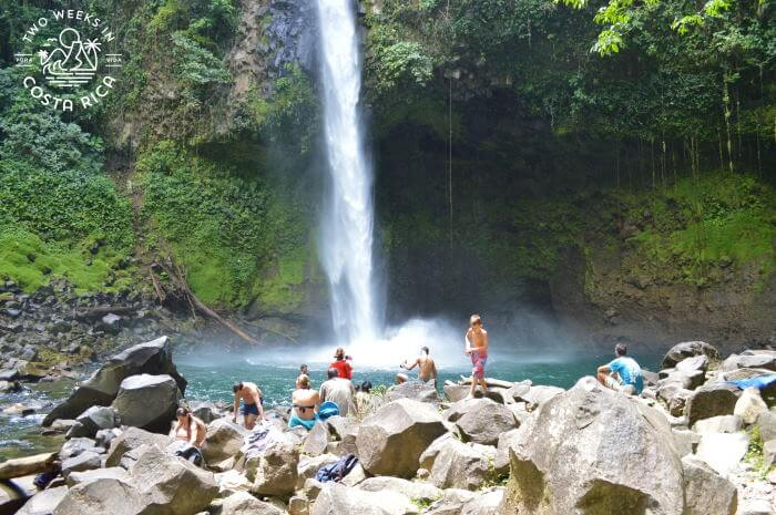 La Fortuna Waterfall - Costa Rica Family Itinerary