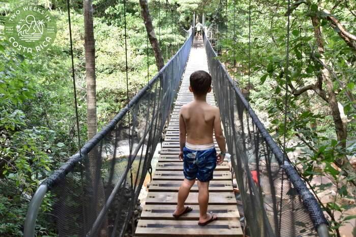 Hanging Bridge Rio Negro Hot Springs